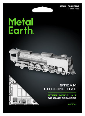 METAL EARTH 3D-Bausatz UP844 Steam Locomotive